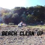 【Beach clean up】